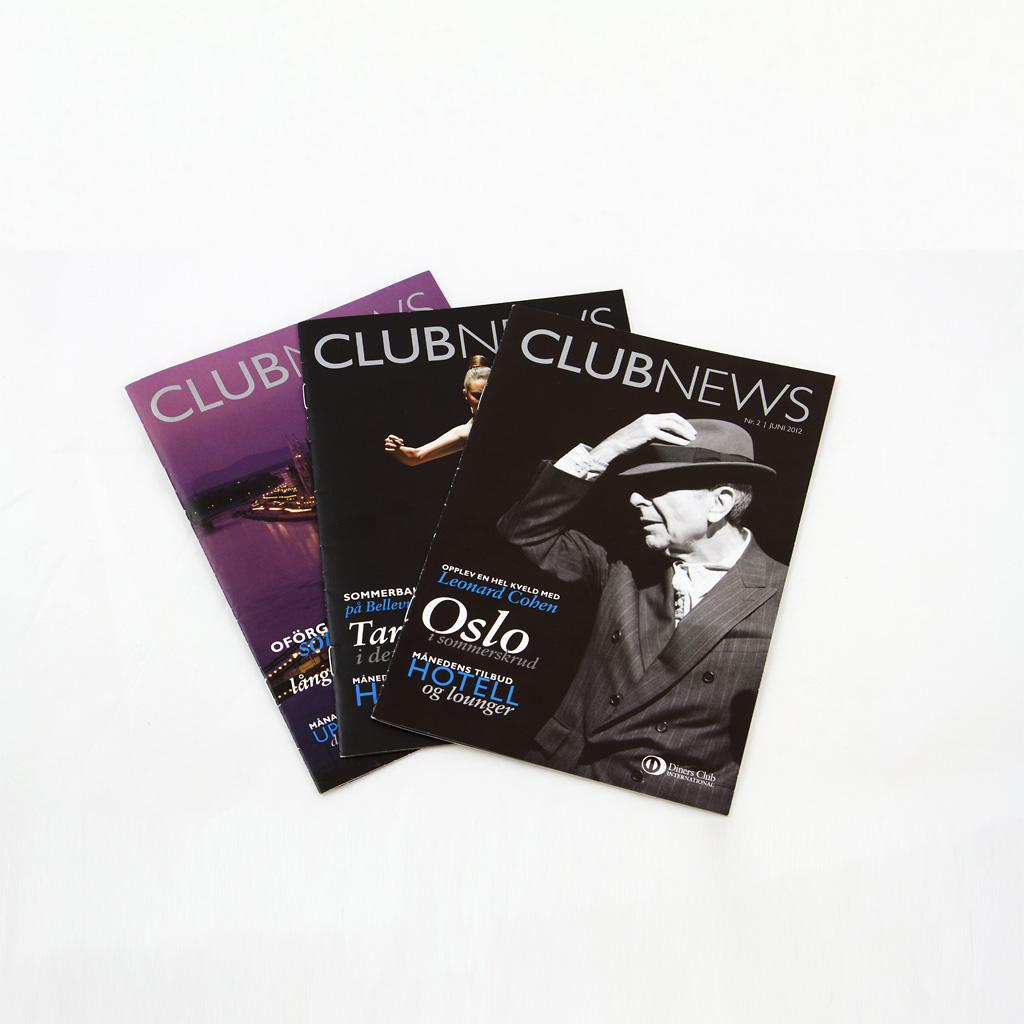 Diners Club, nya Club News