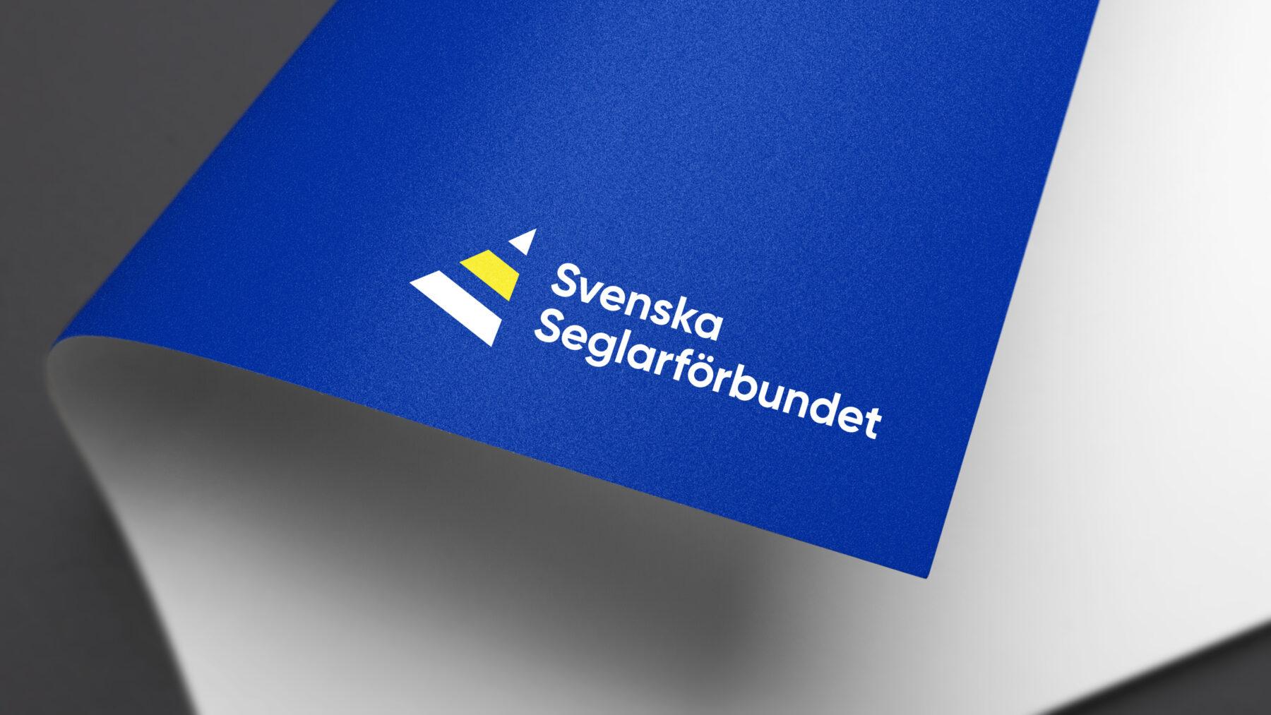 Seglarförbundet - logotyp applicerad