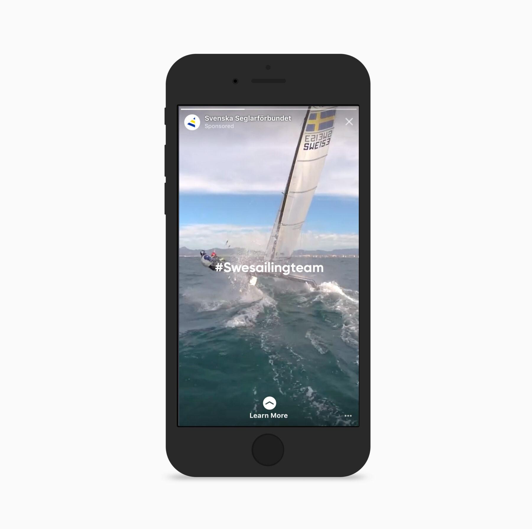 Seglarförbundet swe sailing team på instagram
