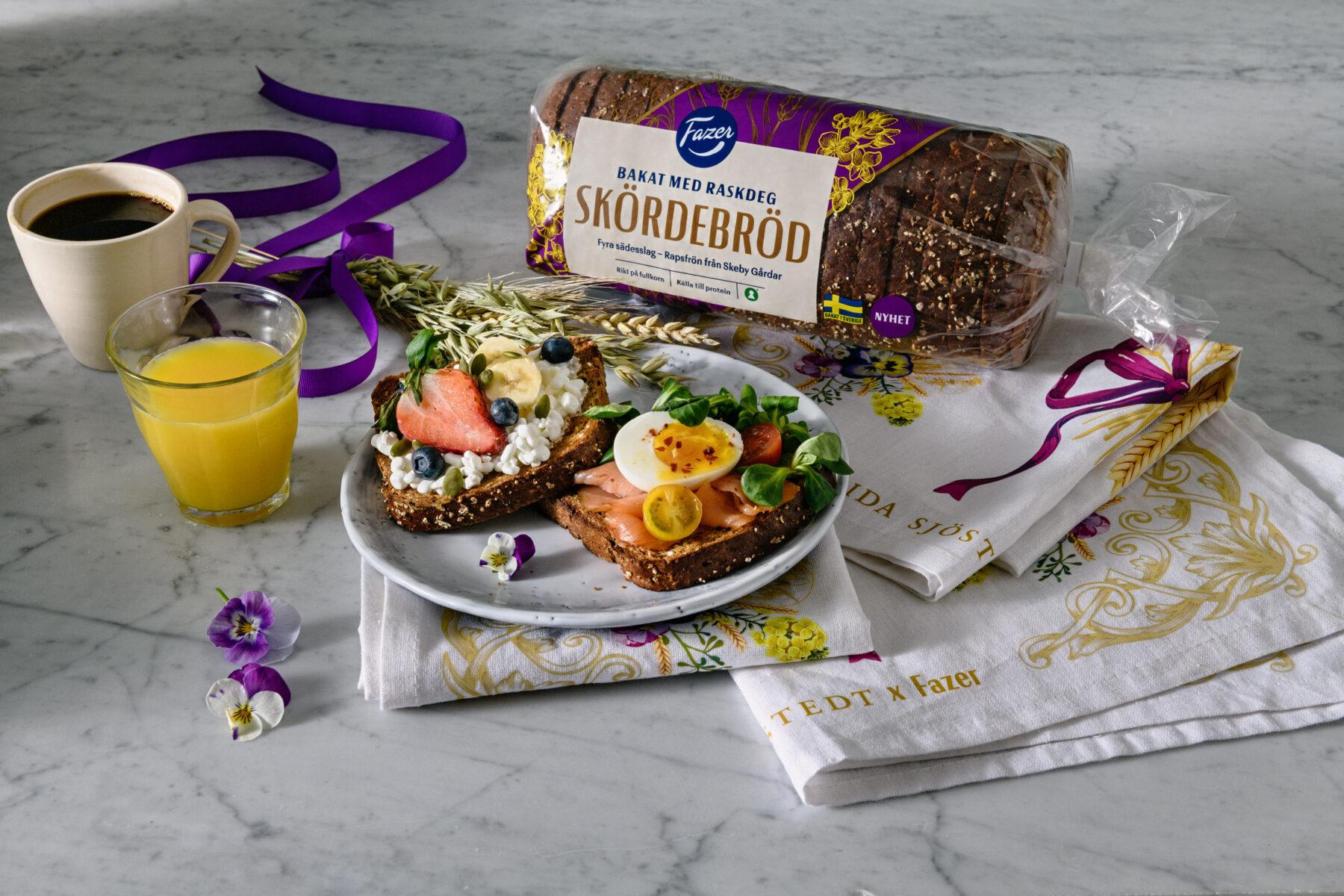 Frukost med Fazer